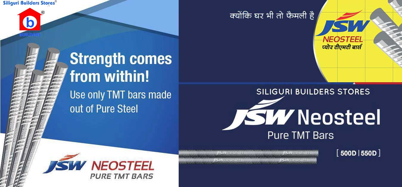 Welcome to Siliguri Builders Stores - Distributors of JSW